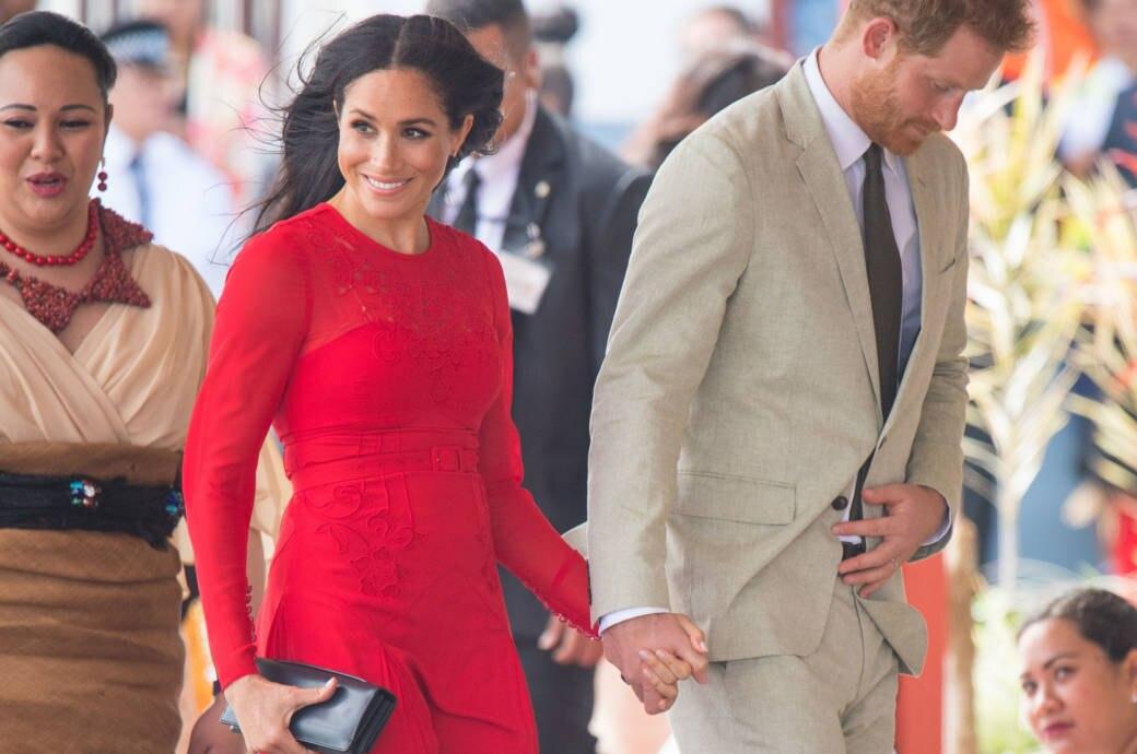 Prinz Harry und Herzogin Meghan in Tonga, Australien