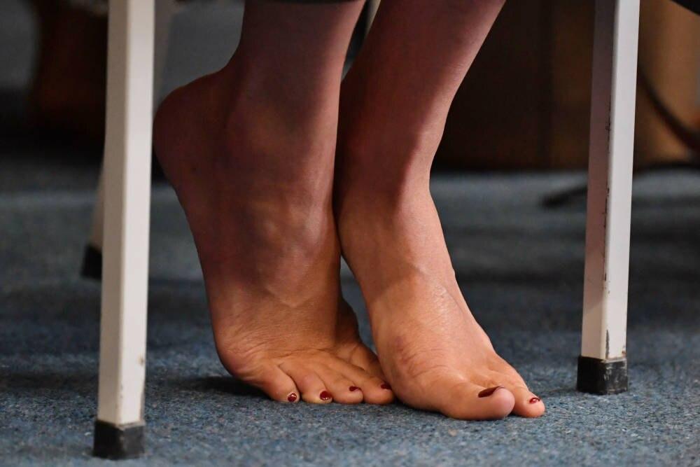 Meghan Markle Füße