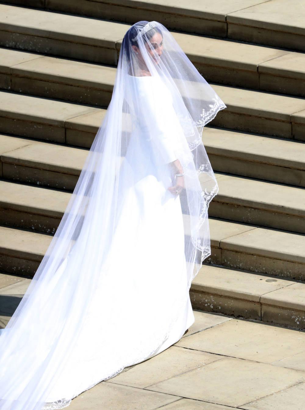 Meghan Markle vor der Trauung mit Prinz Harry