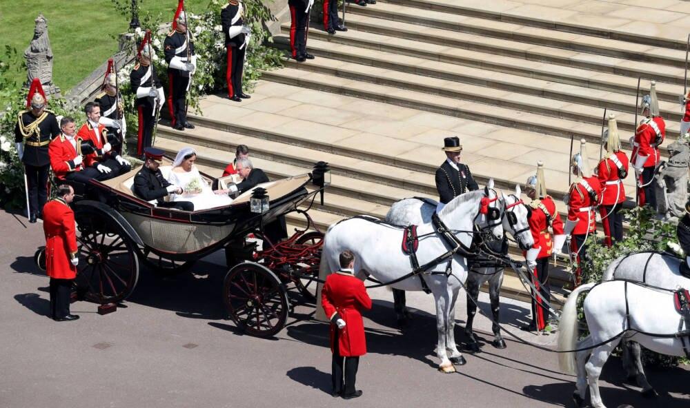 Prinz Harry und Herzogin Meghan: Erste Bilder ihres Besuchs in Sussex