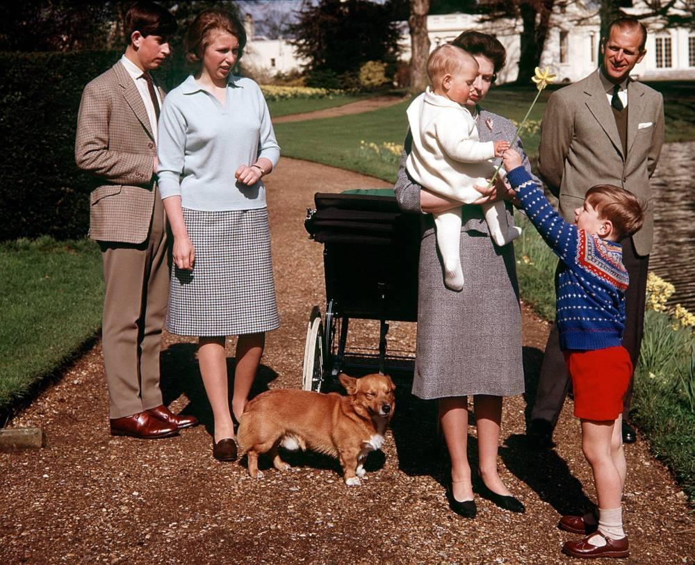 Königsfamilie um 1965