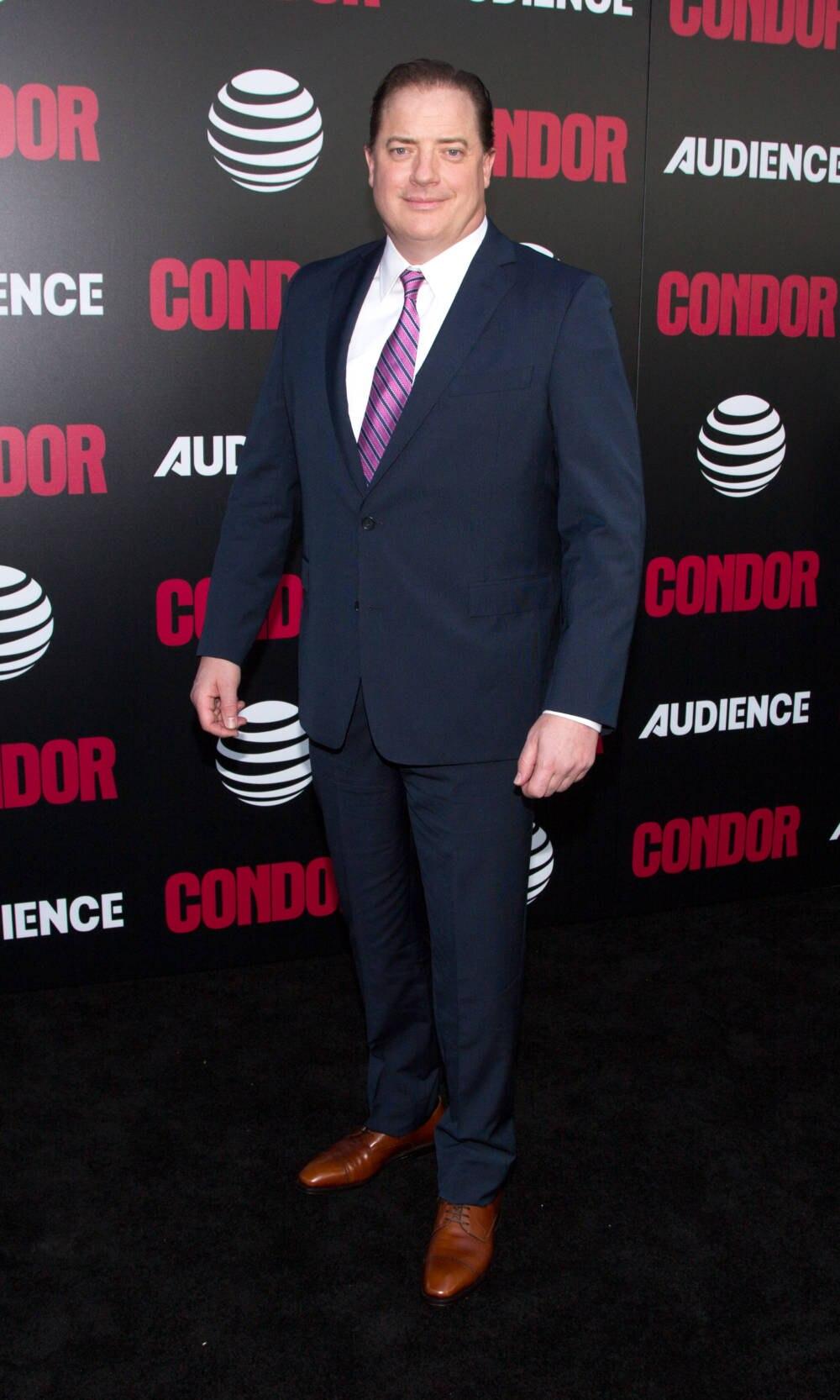 Hollywood-Star Fraser bei Premiere