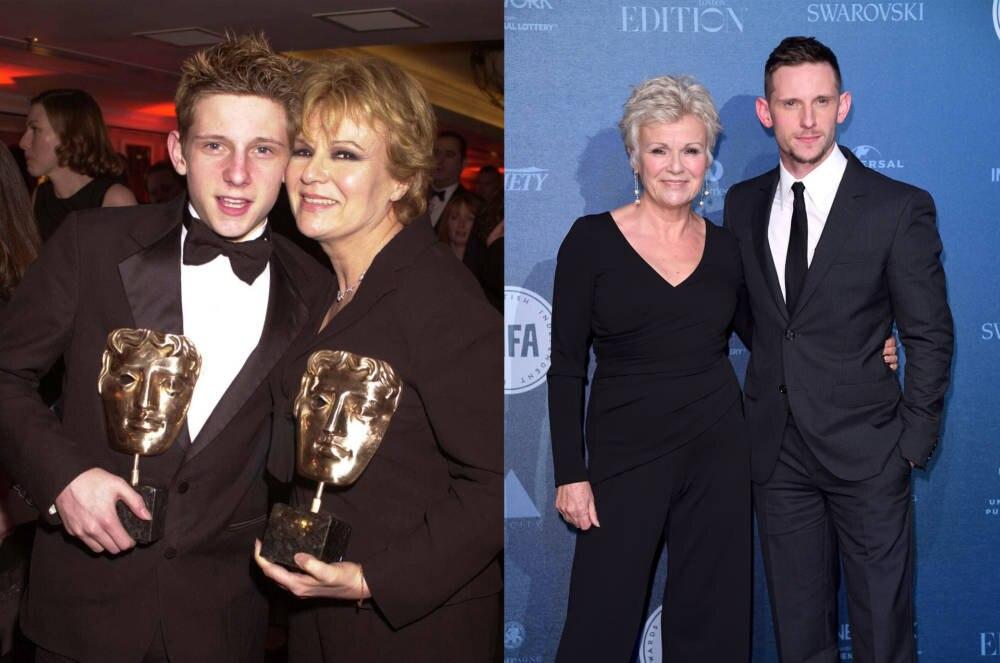 Jamie Bell und Julie Walters 2001 und 2017