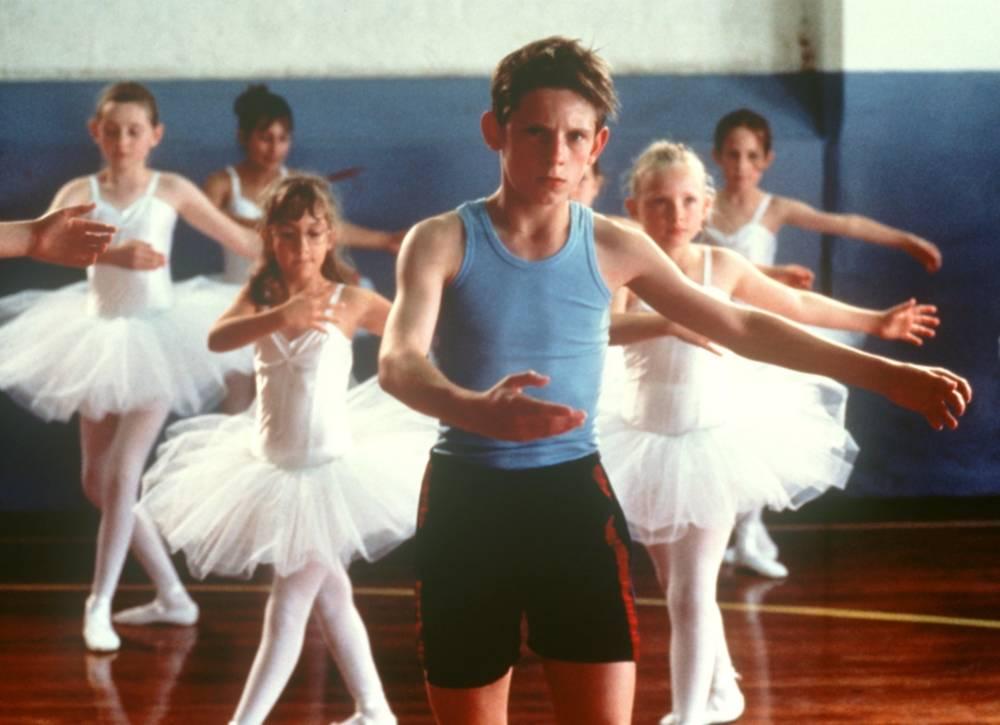 "Jamie Bell in ""Billy Elliot"""