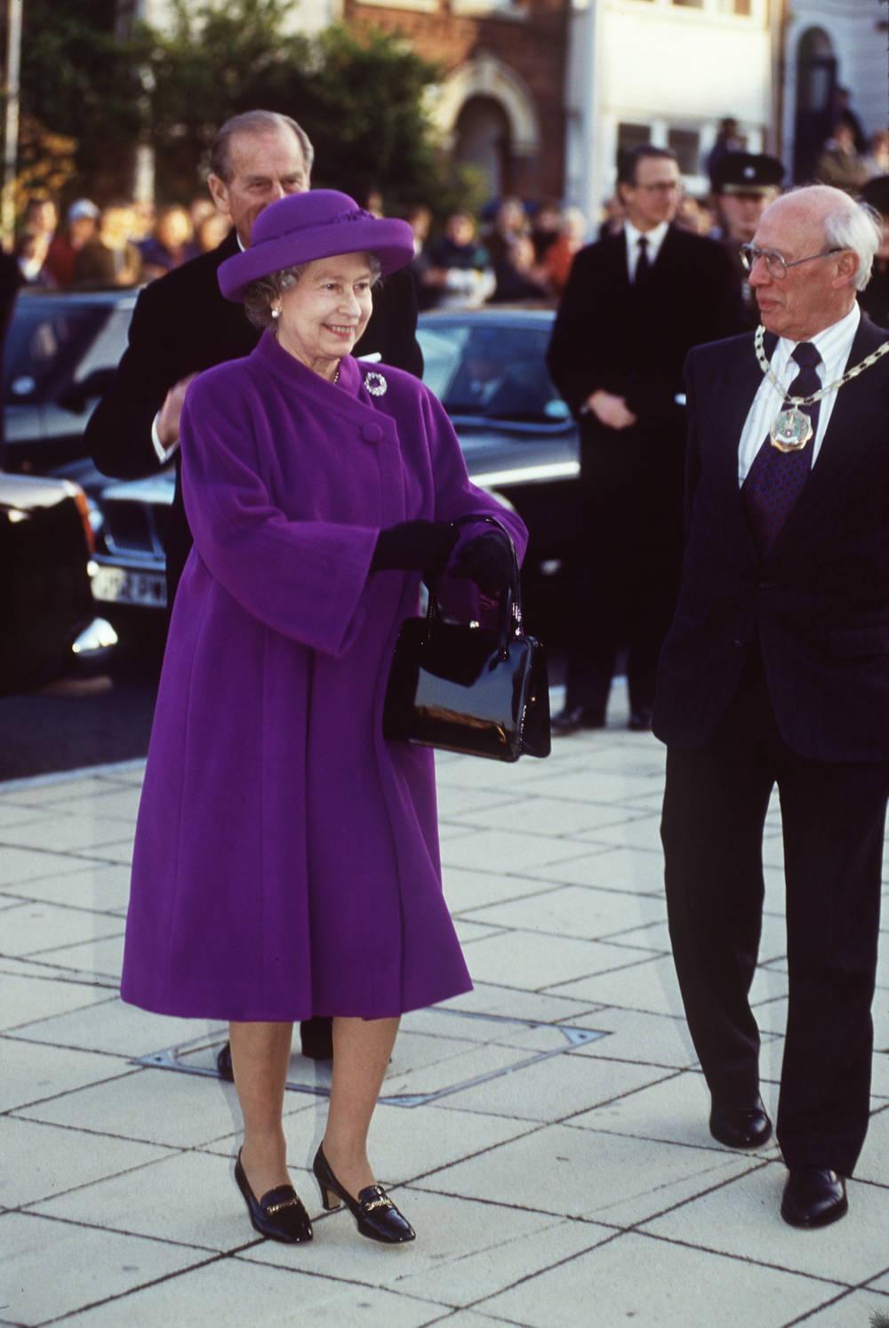 Queen Elizabeth in Winchester
