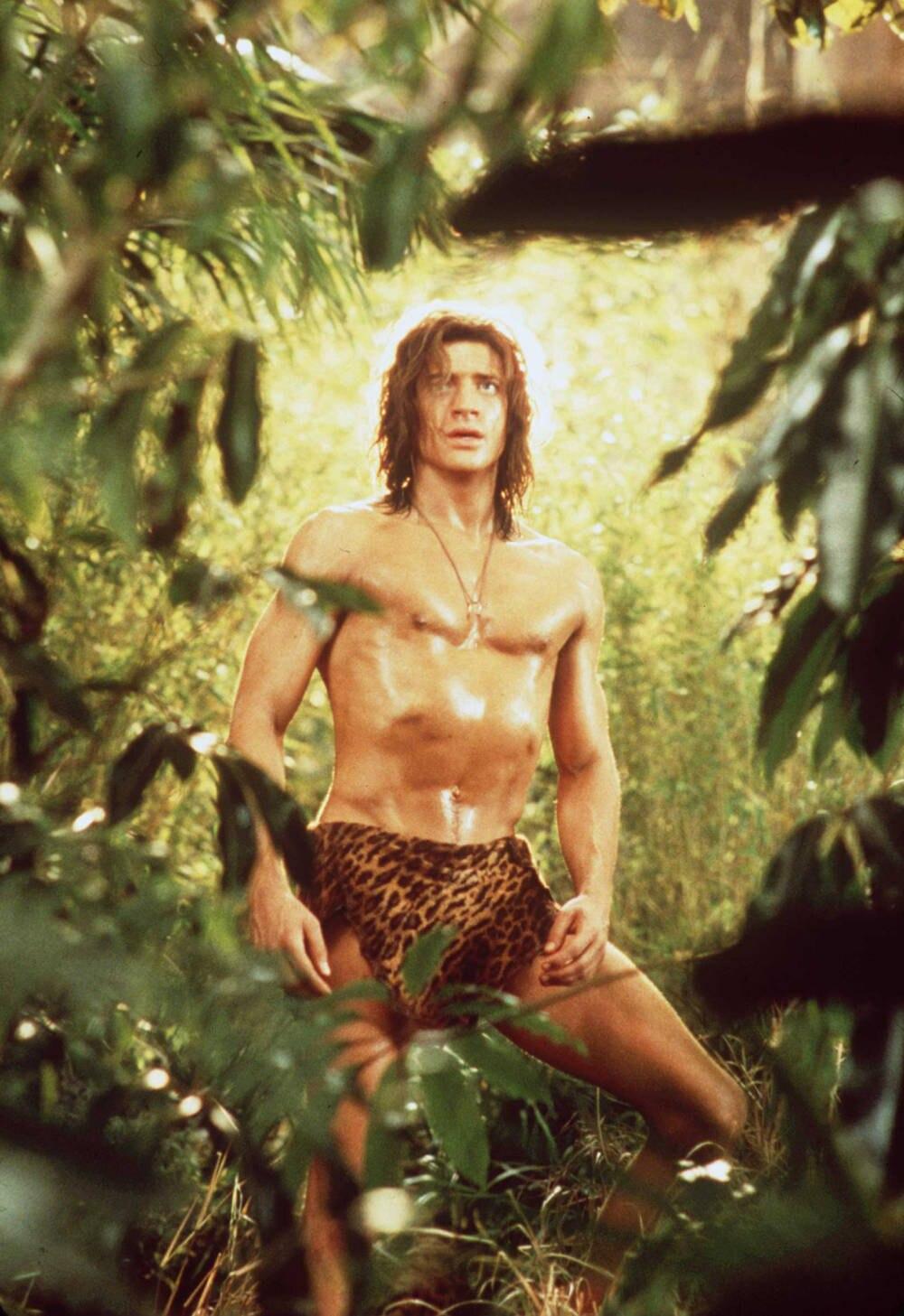 """Brendan Fraser in """"George – Der aus dem Dschungel kam"""""""