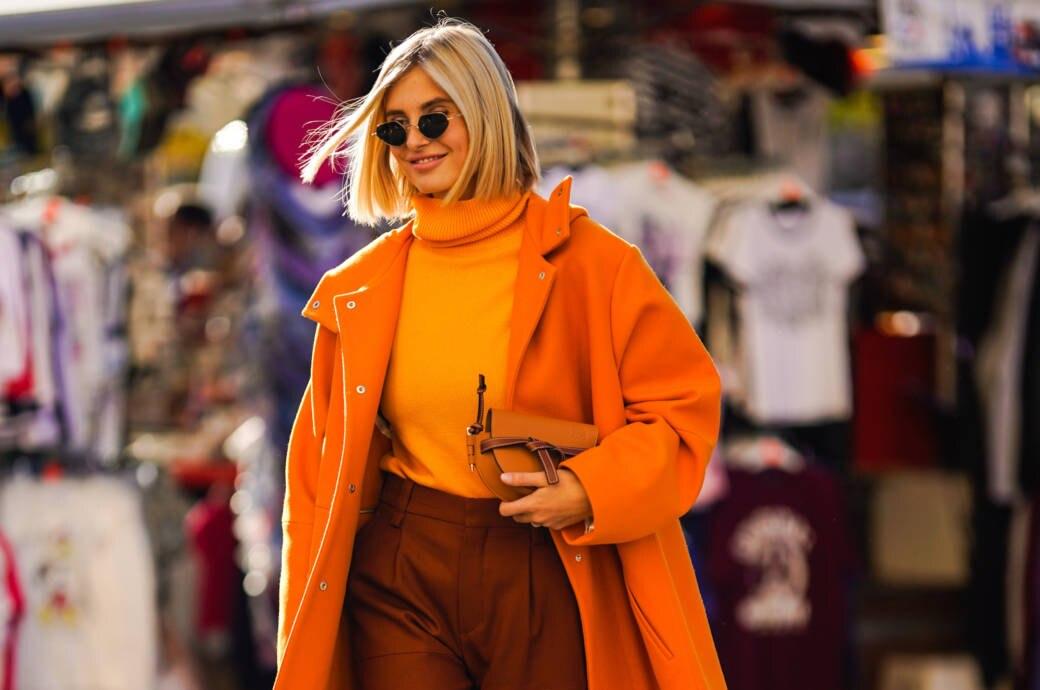 suche nach authentisch beste Turnschuhe heißer Verkauf online Trend: Wie man Orange richtig trägt und kombiniert | STYLEBOOK