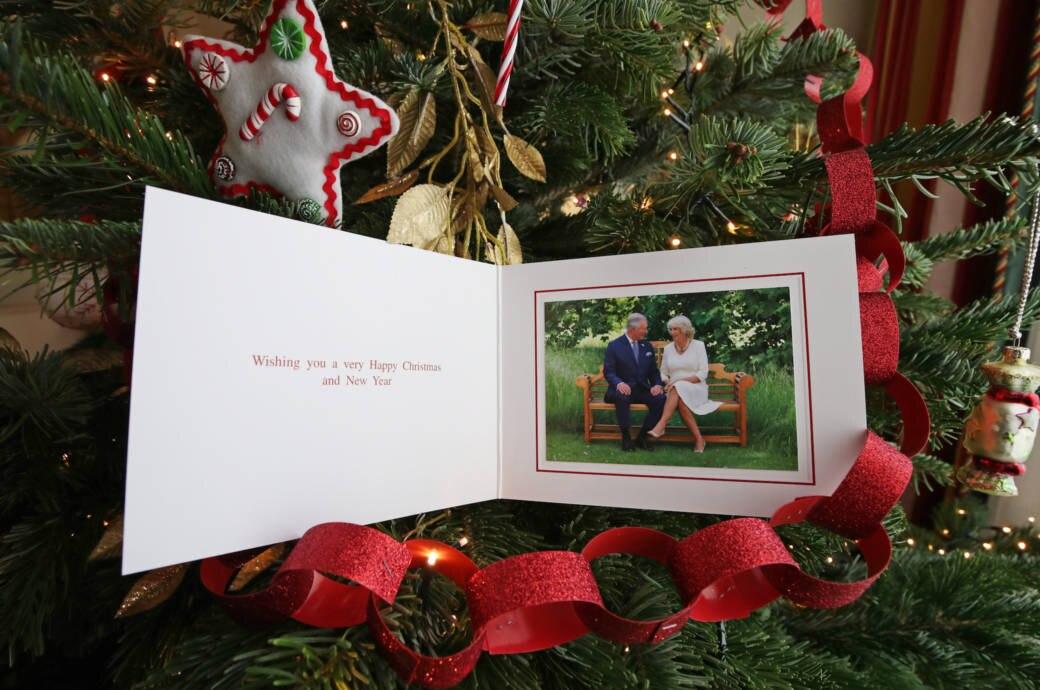 Weihnachtskarte Royals