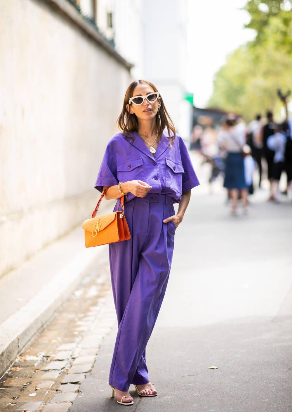 Gast auf der Paris Fashion Week