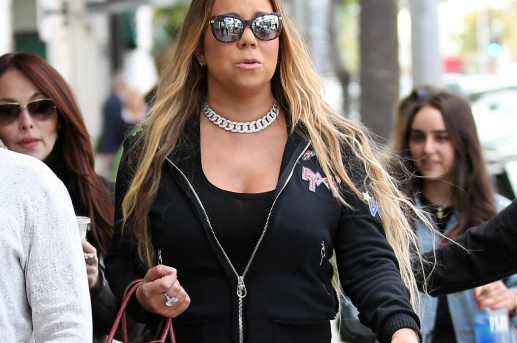 Pop-Diva Carey beim Shoppen