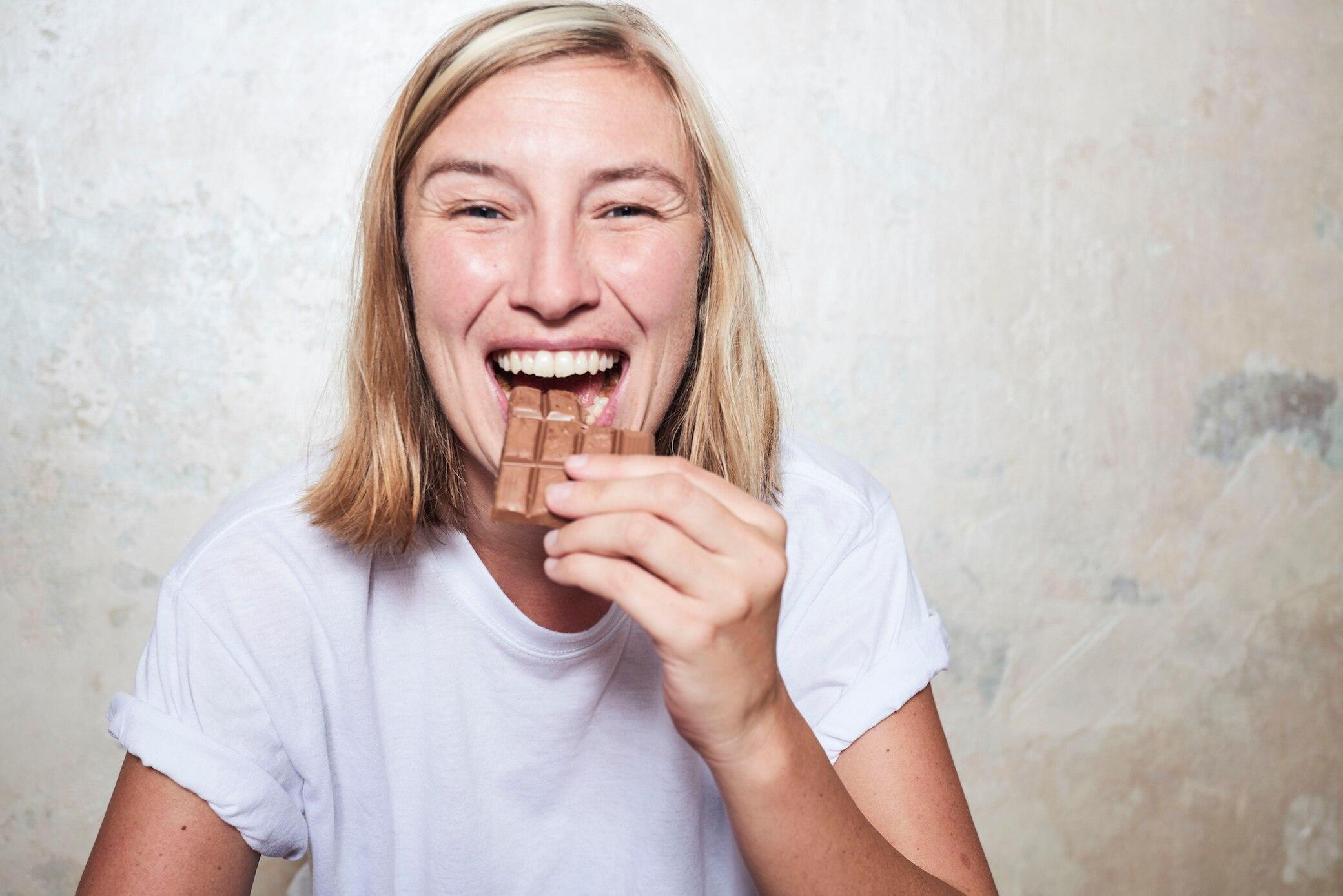 Schokolade macht schöööööön!