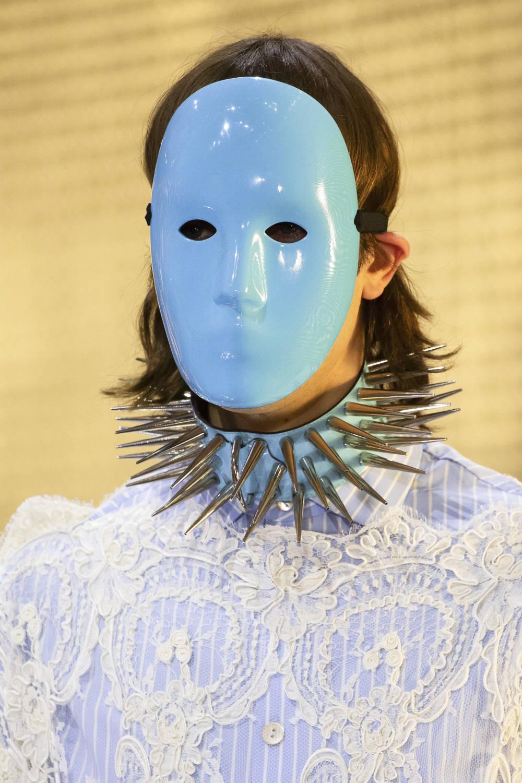 Warum Gucci seinen Models Masken aufsetzte