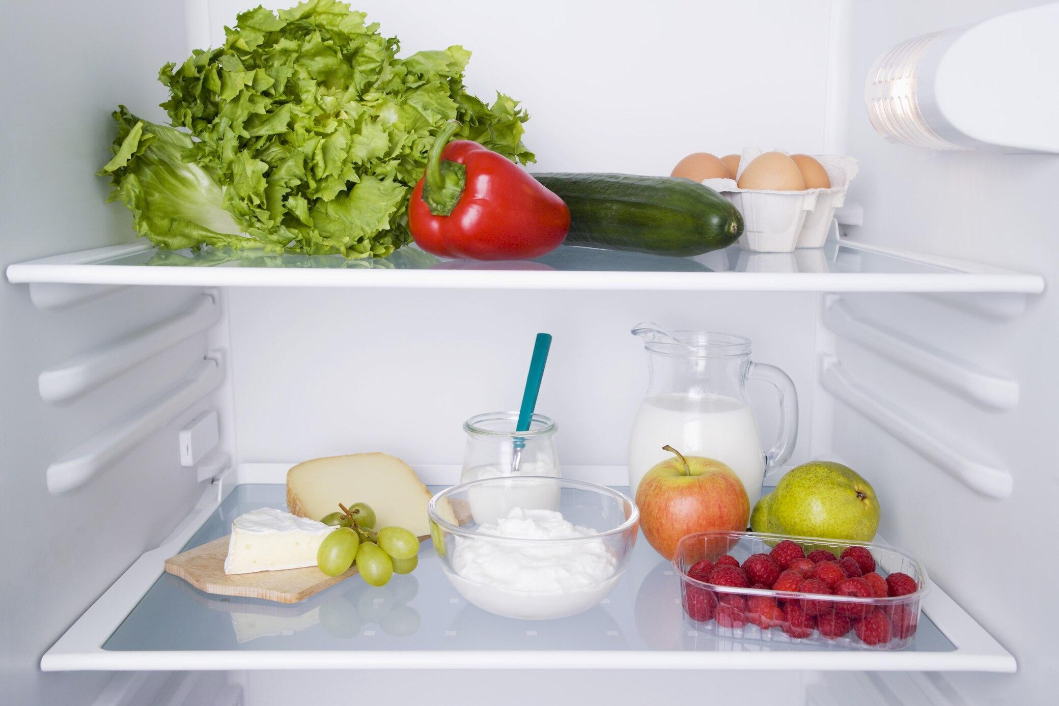 Lebensmittelverschwendung im Kühlschrank vermeiden