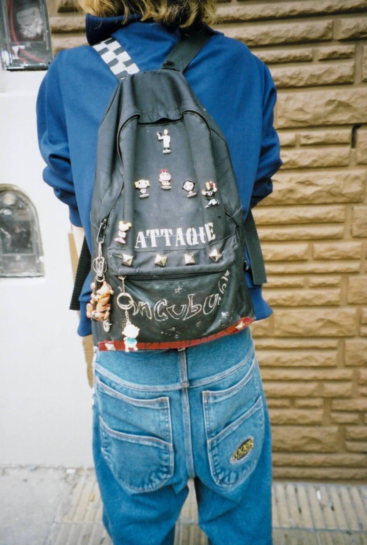 Baggy Jeans von hinten