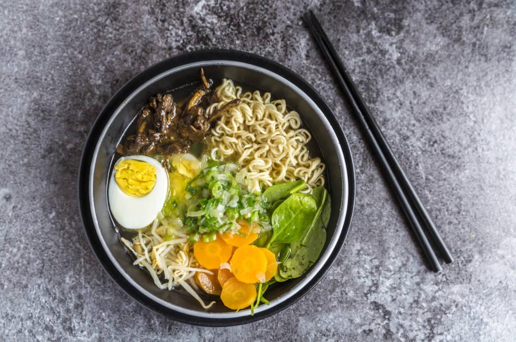 Ramen-Suppe