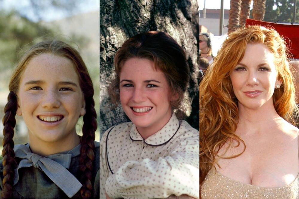 Melissa Gilbert Mitte der 1970er und 2003