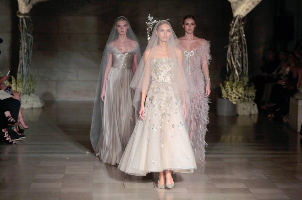 Reem Acra Bridal Fashion Week New York
