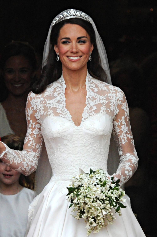 Herzogin Kate im Brautkleid