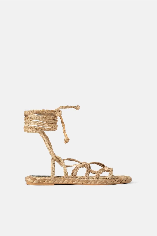 Sandale aus Naturmaterial