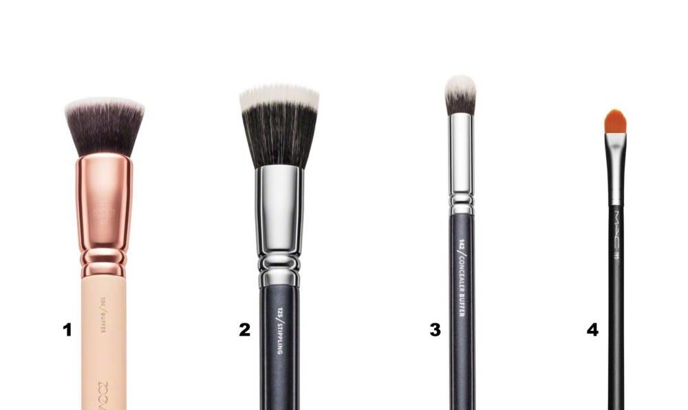 Make-up Pinsel Foundation und Concealer