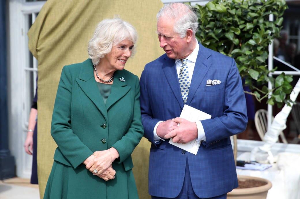 Charles und seine Frau Camilla