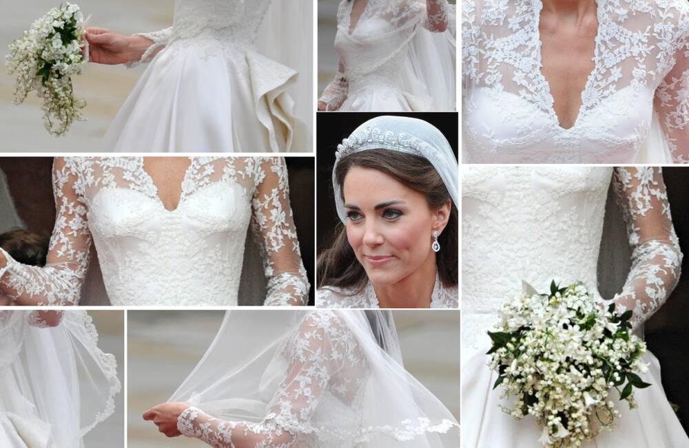 Kate Middleton im Hochzeitskleid 2011