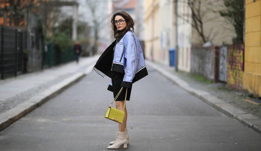 Frau im Streetstyle