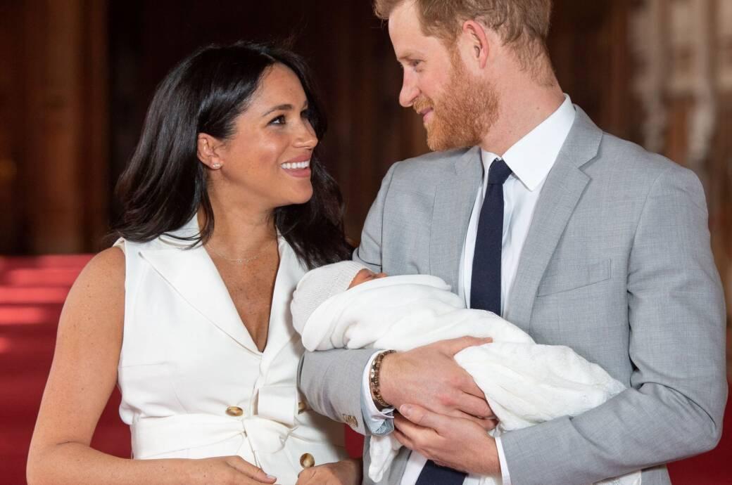 Meghan und Harry mit Baby