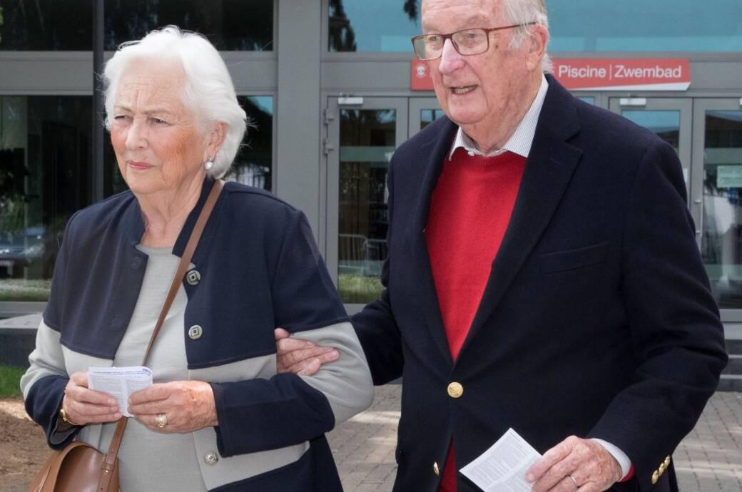 Der ehemalige belgische König Albert II. (hier mit seiner Frau Paola)