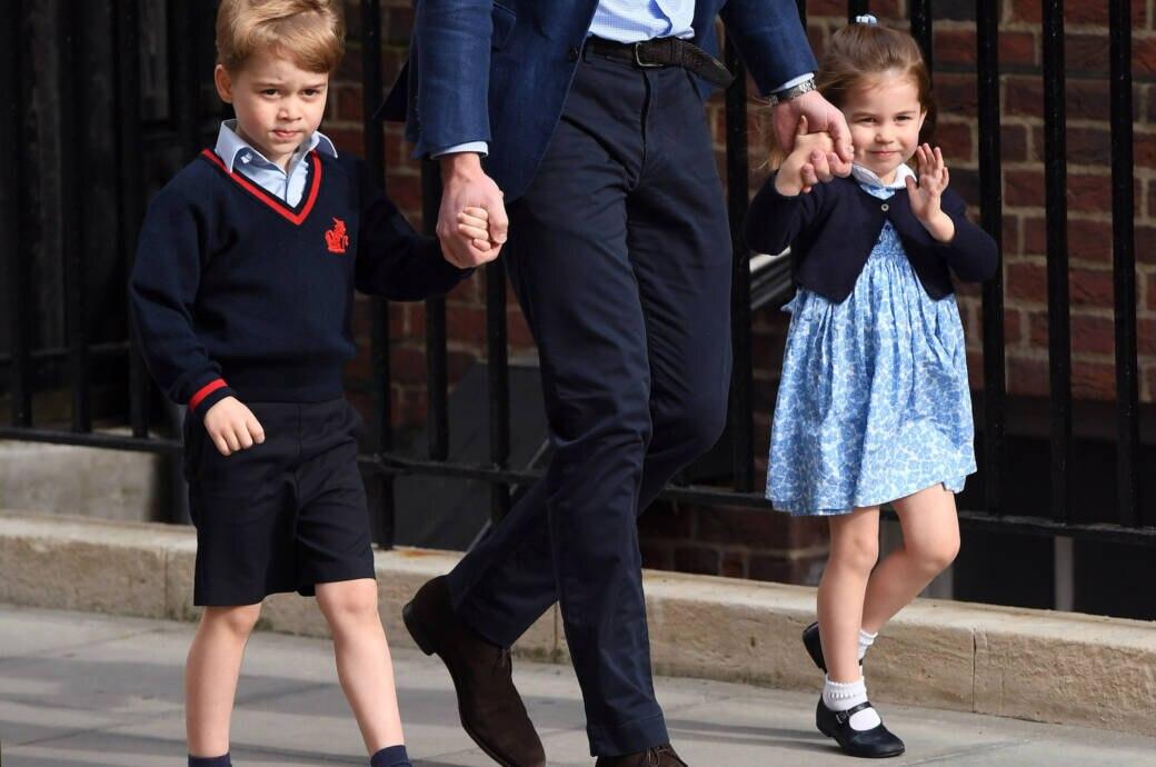 Prinzessin Charlotte, Bruder George und Vater William