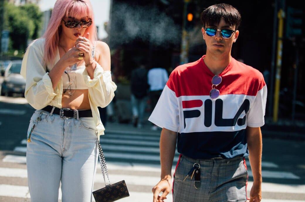 90er Jahren Mode