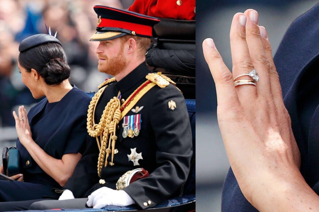 Warum ließ Herzogin Meghan ihren Verlobungsring ändern?