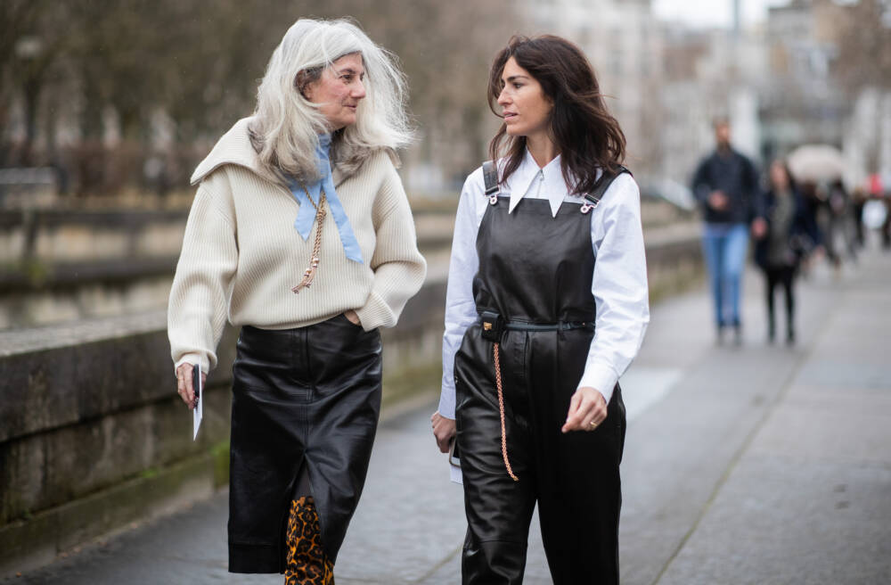 Street Style - Paris Fashion Week Womenswear Fall/Winter 2019/2020 : Day Seven