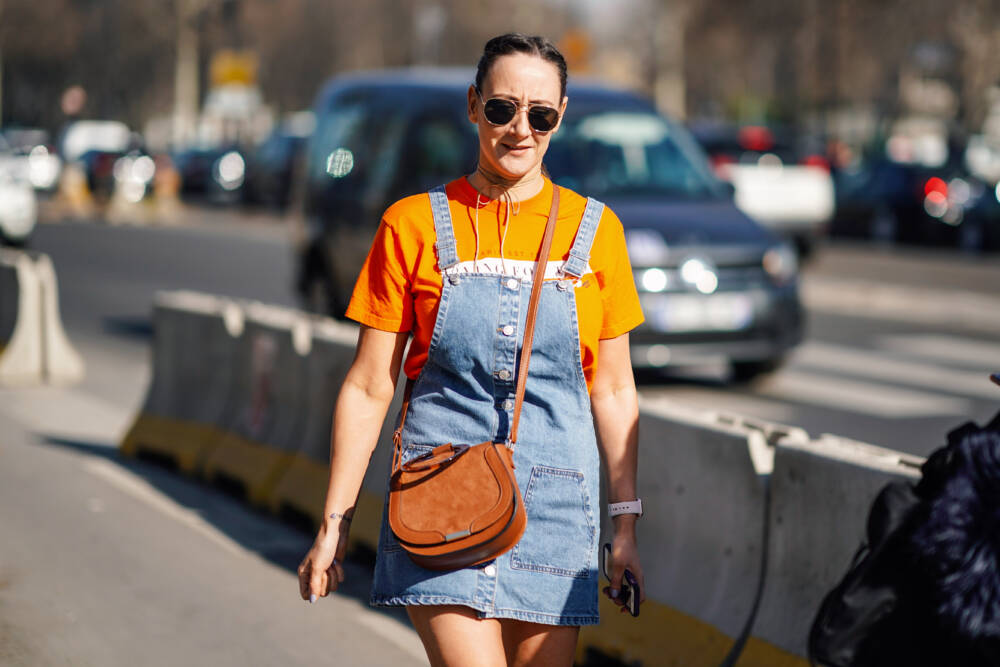 Street Style - Paris Fashion Week Womenswear Fall/Winter 2019/2020 : Day Three