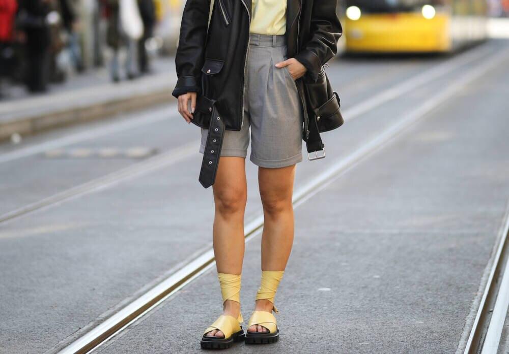 Masha Sedgwick mit Boy-Shorts