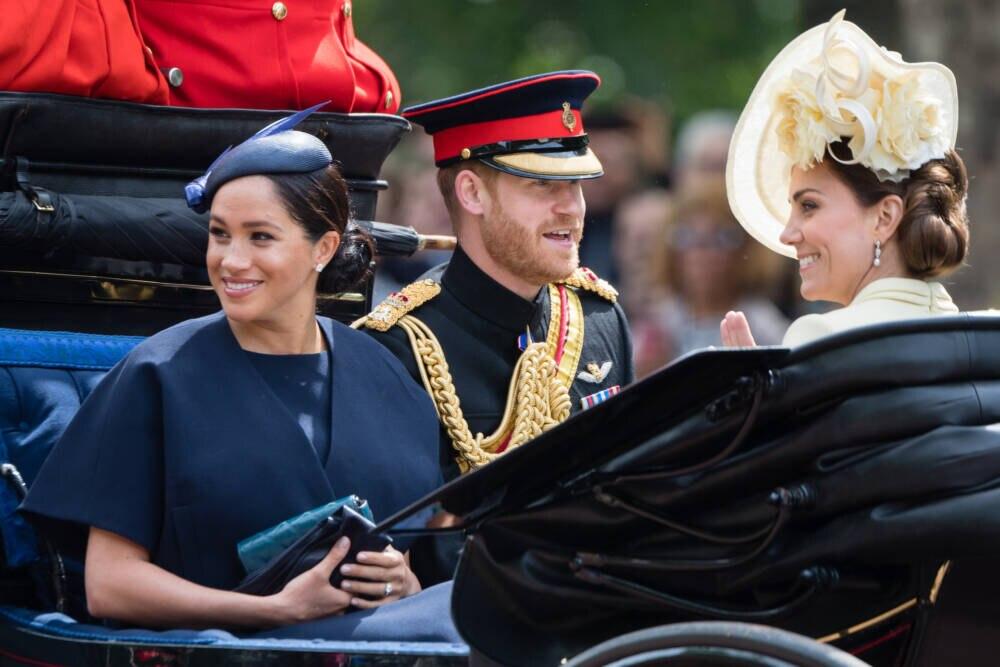 Herzogin Meghan, Prinz Harry, Herzogin Kate