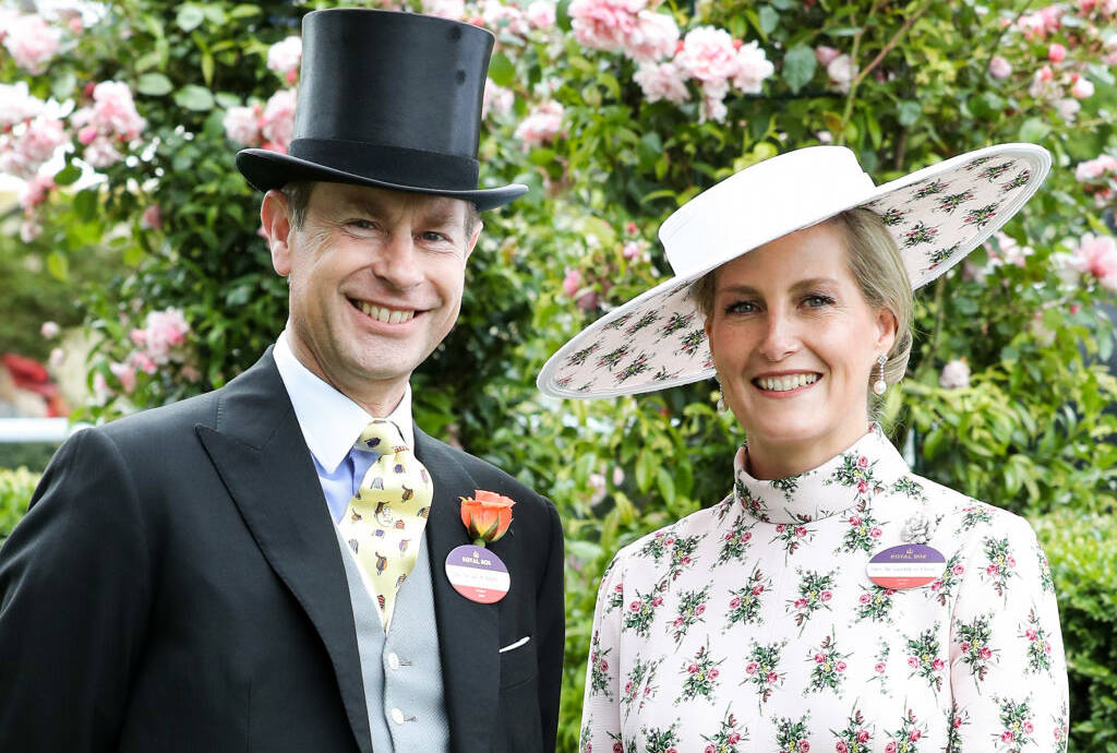 Prinz Edward und Sophie in Ascot