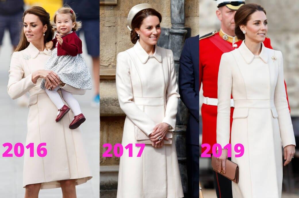 Warum Herzogin Kate diesen Mantel nicht ausmistet