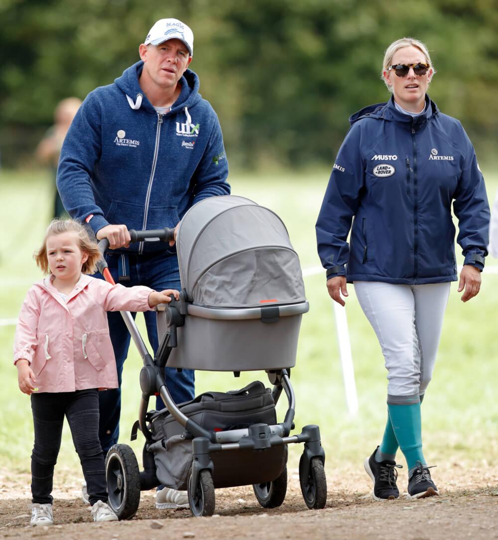 Zara Tindall und ihre Familie auf dem Land