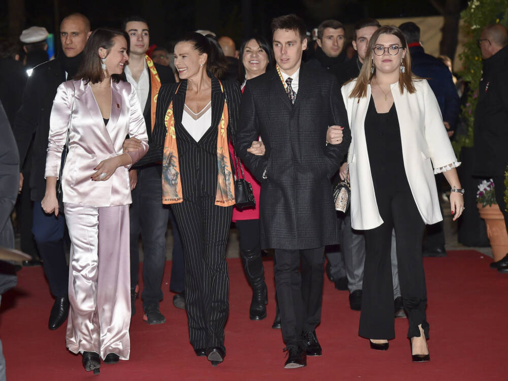 Pauline Ducruet, Stéphanie von Monaco, Louis Ducruet, Camille Gottlieb