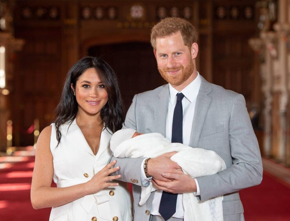 Meghan Markle, Baby Archie, Prinz Harry
