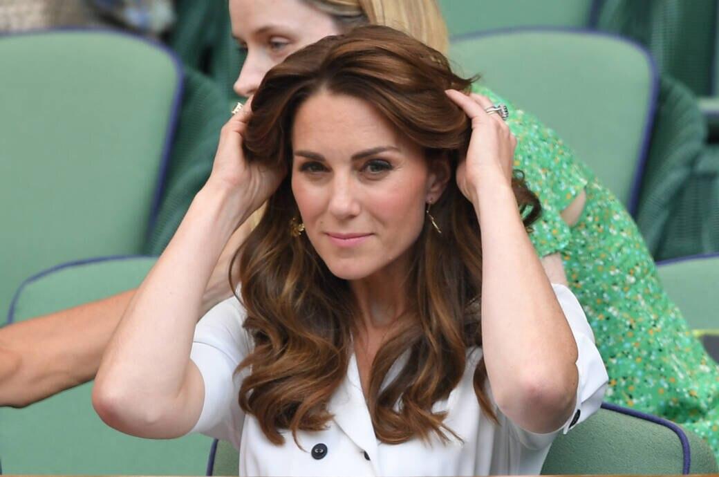 Deshalb Tragt Herzogin Kate Ihre Haare Meist Offen Stylebook