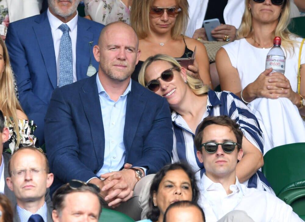 Zara und Michael Tindall in Wimbledon 2019