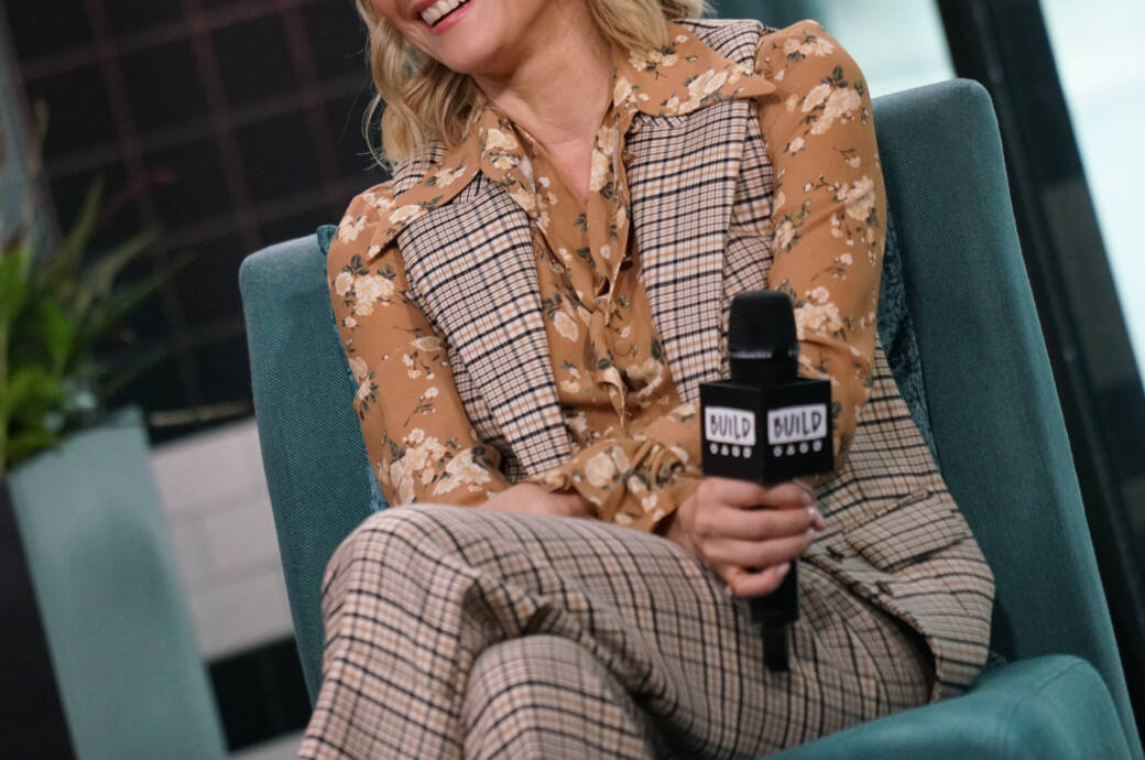 """Diane Kruger in der TV-Show """"Live with Kelly and Ryan"""""""