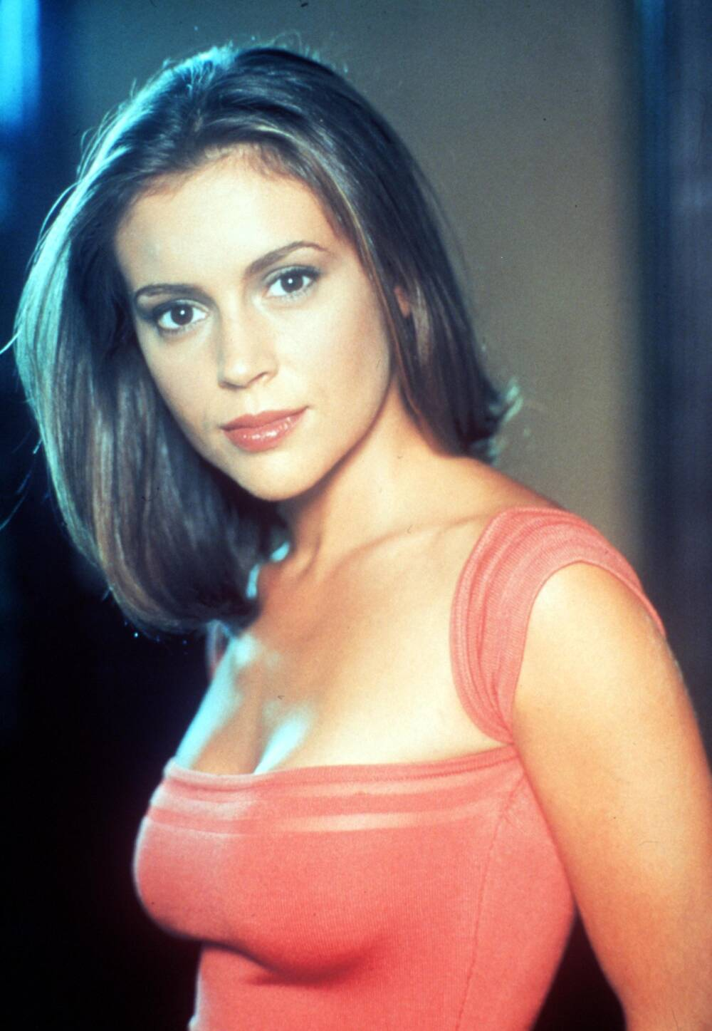 "Alyssa Milano als Phoebe in ""Charmed"", 1999"