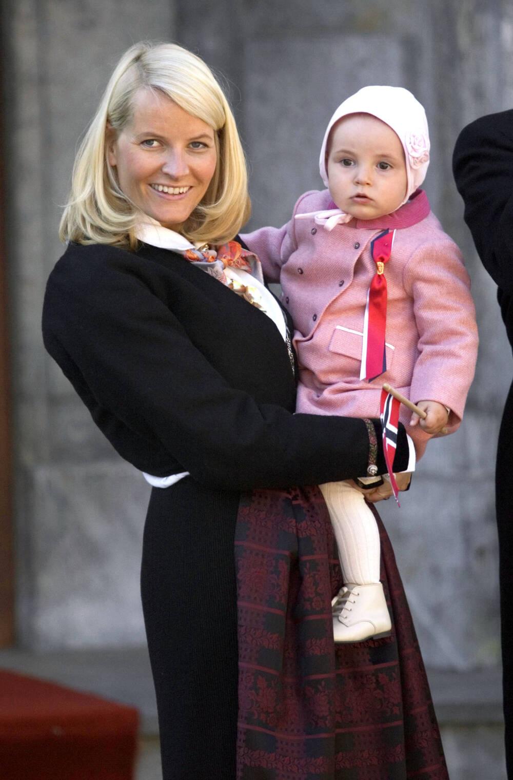 Prinzessin Ingrid Alexandra als Baby