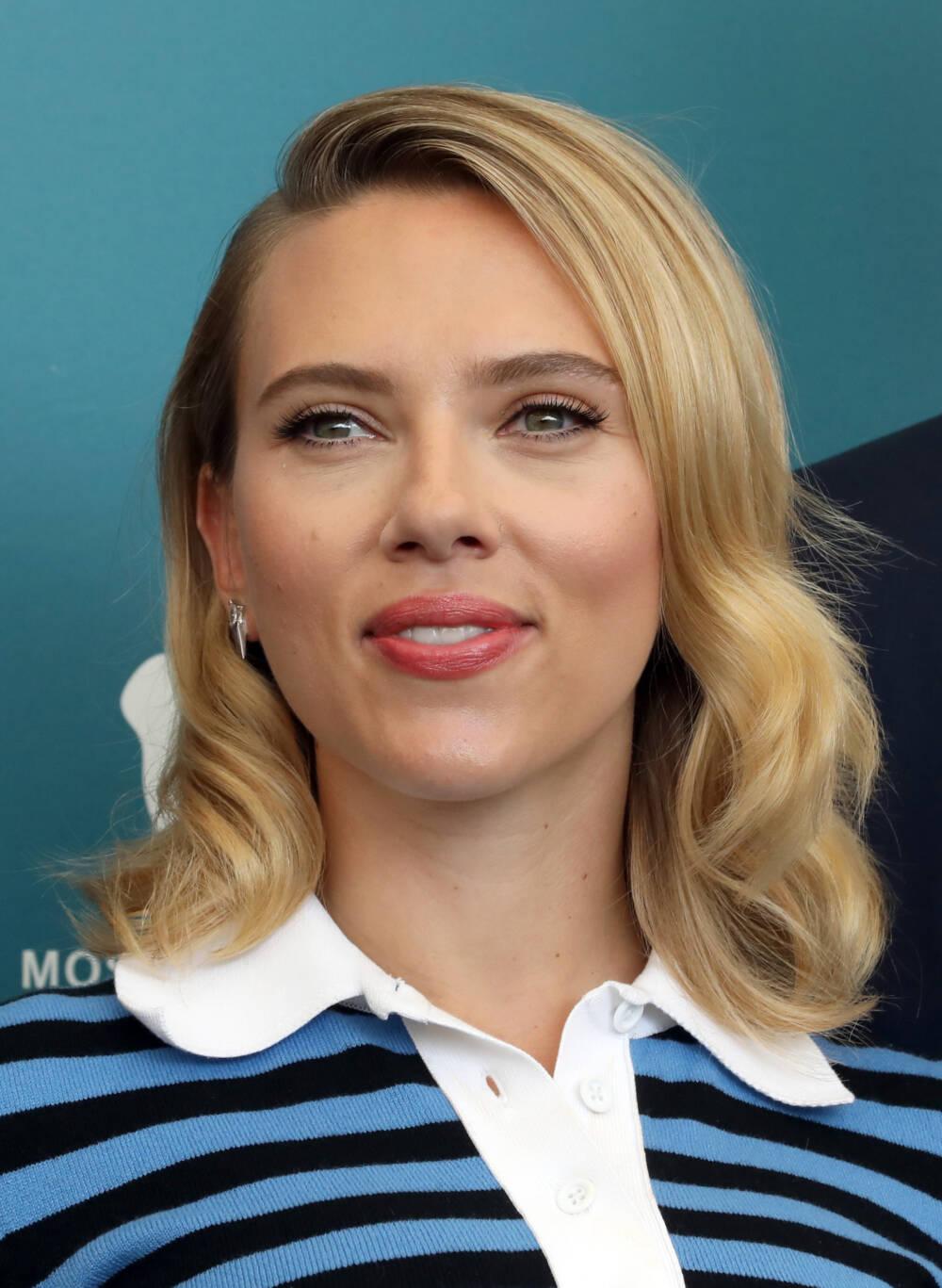Scarlett Johannson Close-up in Venedig