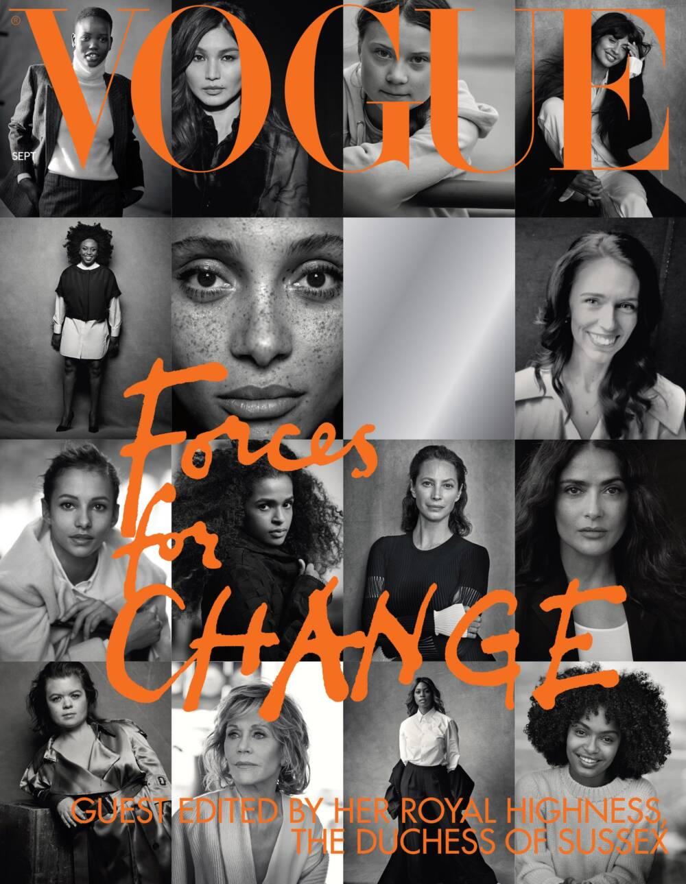 Vogue Cover Lindbergh