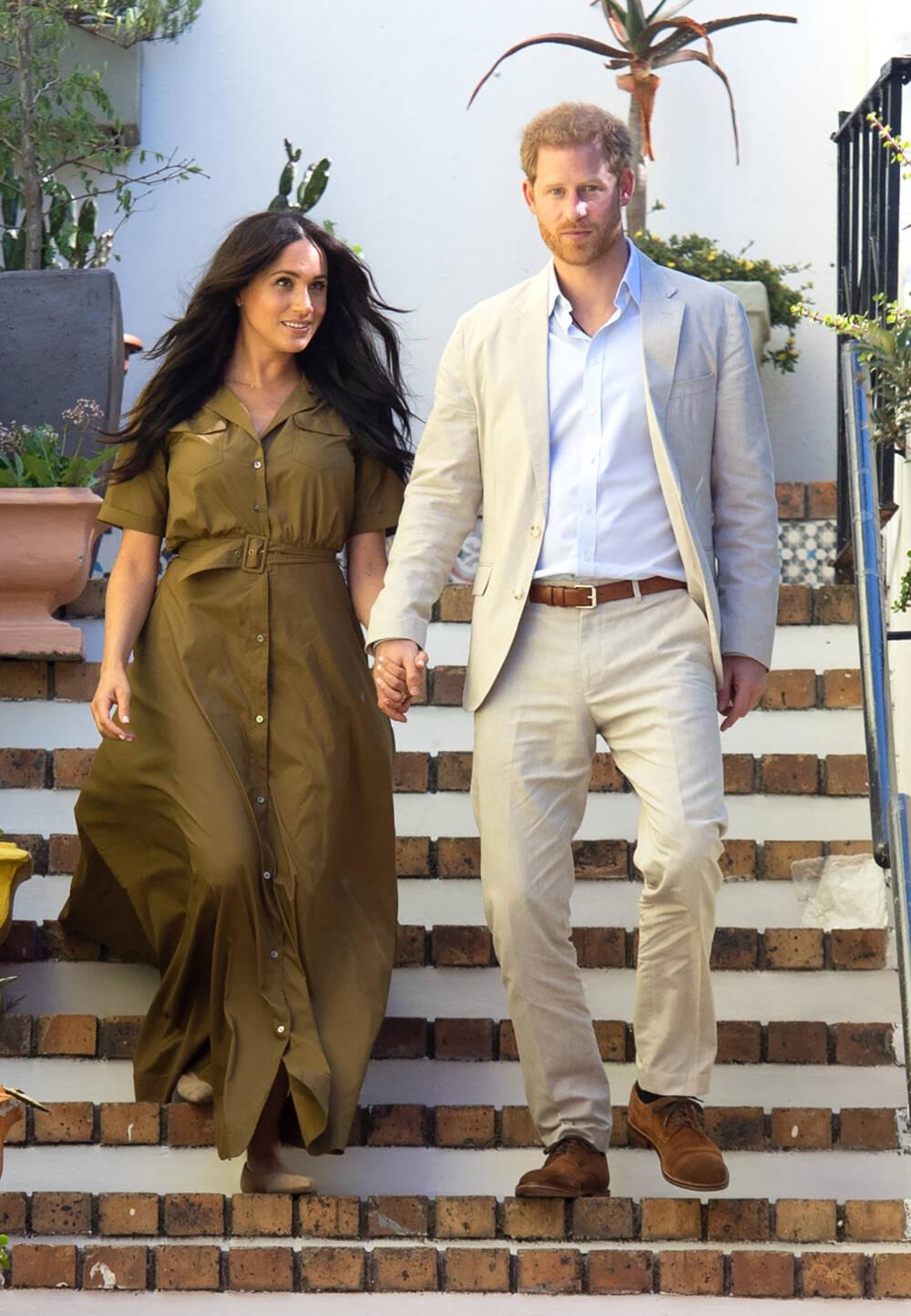 Meghan und Harry in Südafrika