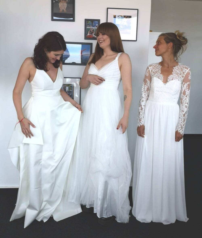cheap for discount 9722a 57759 Stoffe, Schnitt, Verarbeitung: Brautkleider von H&M im Check ...